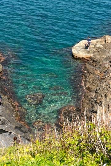 PYRENEES ORIENTALES Crique vers Collioure