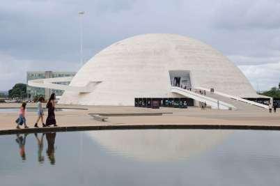BRESIL Brasilia Musée National
