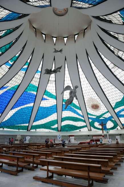 BRESIL Brasilia Cathédrale métropolitaine