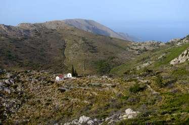 GRECE - Iles du Golfe Saronique Hydra Rando autour du mont Eros