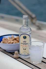 GRECE - Iles du Golfe Saronique Apéro à l'ouzo et aux pistaches d'Egine