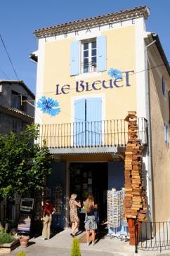 ALPES DE HAUTE PROVENCE Banon Librairie La Bleuet