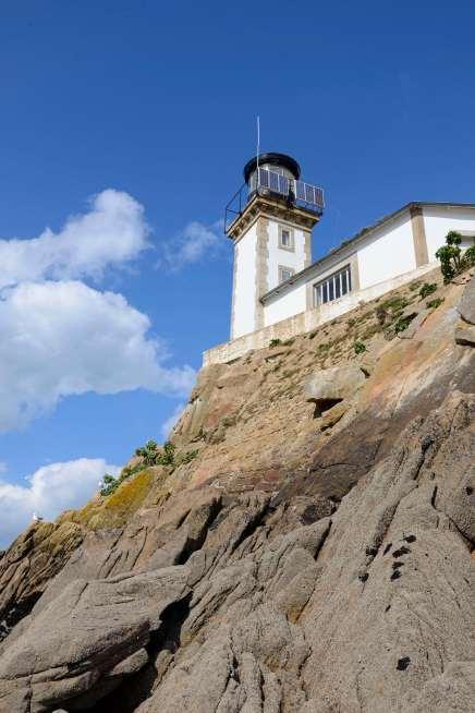 Iles secretes du Finistère Ile Louet, au large de Carantec