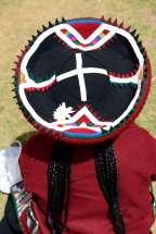 PEROU Village de Umasbamba, vers Chinchero Chapeau traditionnel Quechua de femme