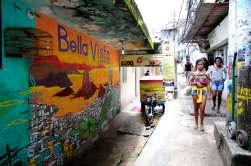 BRESIL - Rio de Janeiro Dans la favela Pavaozinho
