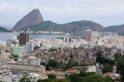BRESIL - Rio de Janeiro Vue depuis le Parque das Ruinas, dans le quartier Santa Teresa