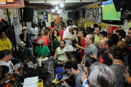 BRESIL - Rio de Janeiro Concert dans un bar du quartier Lapa