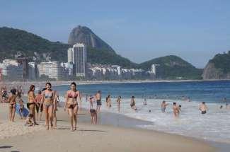 BRESIL - Rio de Janeiro Plage de Copacabana
