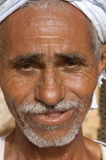 EGYPTE - Basse Nubie Gardien du temple rupestre de Derr