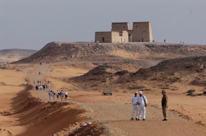 EGYPTE - Basse Nubie Oasis de Ouadi Es-Seboua Temple de Dakka