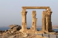 EGYPTE - Basse Nubie Kiosque de Kertassi (à côté du temple de Kalabcha)