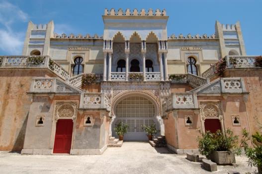 ITALIE - Pouille - Santa Cesarea di Terma Palais mauresque