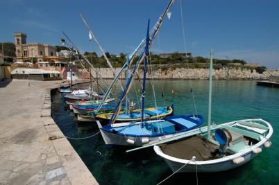 ITALIE - Pouille Petit port de Tricase Porto