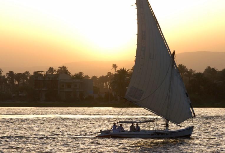 EGYPTE - Louxor Felouque sur le Nil