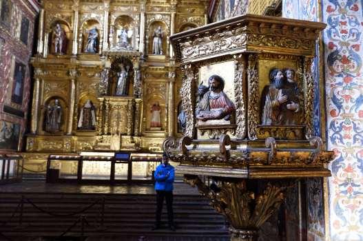 COLOMBIE - Bogota Dans le musée-église Santa-Clara