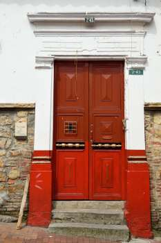 COLOMBIE - Bogota Dans le quartier Candelaria