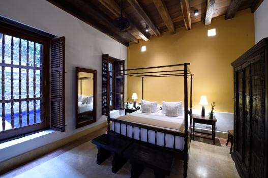 COLOMBIE - Carthagène Hôtel Quadrifolio Chambre N° 1