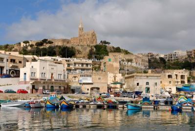 MALTE Gozo Port de Mgarr