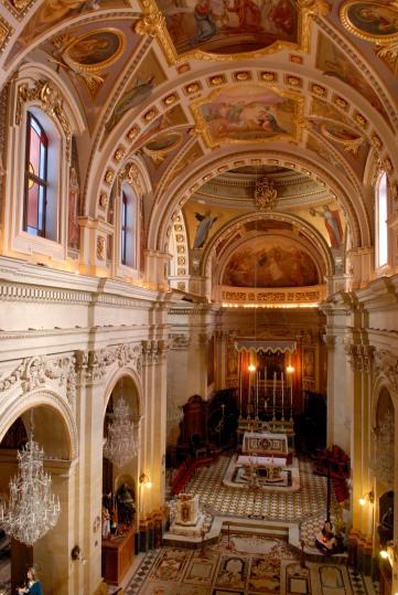 MALTE Gozo Victoria Cathedrale