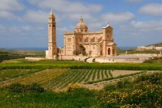 MALTE Gozo Basilique Ta Pinu