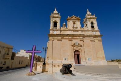 MALTE Gozo Eglise de Zebbug
