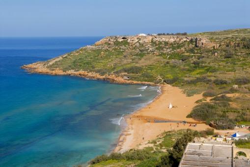 MALTE Gozo Ramla Bay