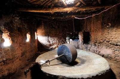 MAROC - vers Tahanaoute Moulin à huile d'Igli
