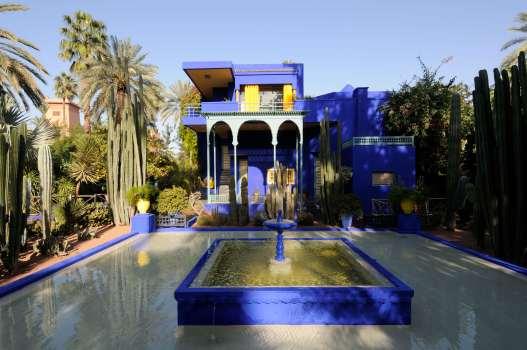 MAROC - Marrakech Jardin Majorelle