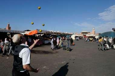 MAROC - Marrakech Place Jema el'Fna