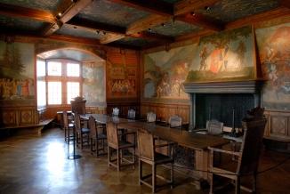 SUISSE Gruyères Salle du château