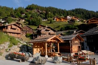 SUISSE - Valais Val d'Anniviers Grimentz