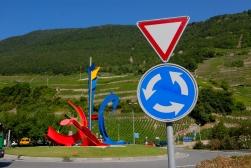 SUISSE - Valais Vers Martigny