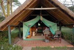 KENYA Réserve de Sweet-Water Tente du campement 4*