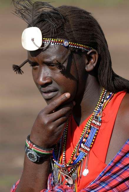 KENYA Maasaï Mara Berger Maasaï