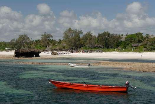 KENYA Sur la côte vers Malindi Réserve marine de Watamu