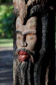 JAMAÏQUE Sculpture rasta