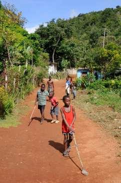 JAMAÏQUE Site de Nine Mile, village natal de Bob Marley