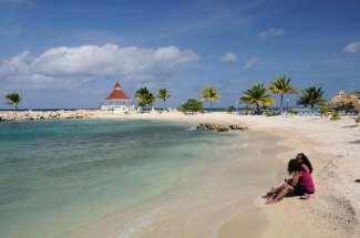 JAMAÏQUE Plage du Gran Bahia Principe d'Ocho Rios