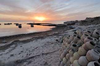 TUNISIE Djerba Coucher de soleil à Sidi Jmour
