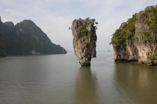 THAÏLANDE Baie de Phang Nga Khao Ta Pu L'île de James Bond