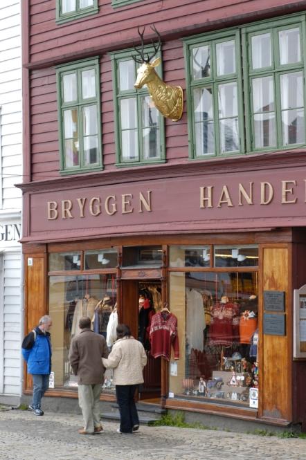NORVEGE Bergen Boutique du Bryggen