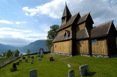 NORVEGE Eglise d'Urnes