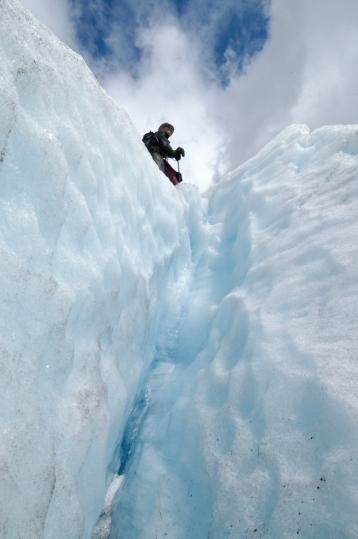 NORVEGE Nigardsbreen Faille dans le glacier