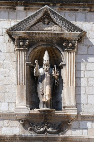 CROATIE - Dubrovnik Statue de St-Blaise