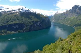 NORVEGE Vue du Geirangerfjord