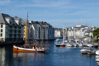 NORVEGE Marina d'Alesund