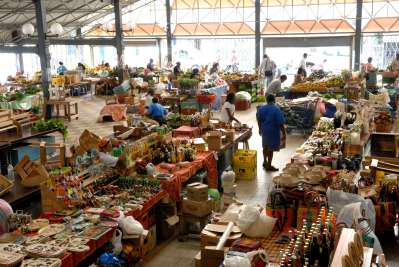 MARTINIQUE Fort-de-France Grand marché