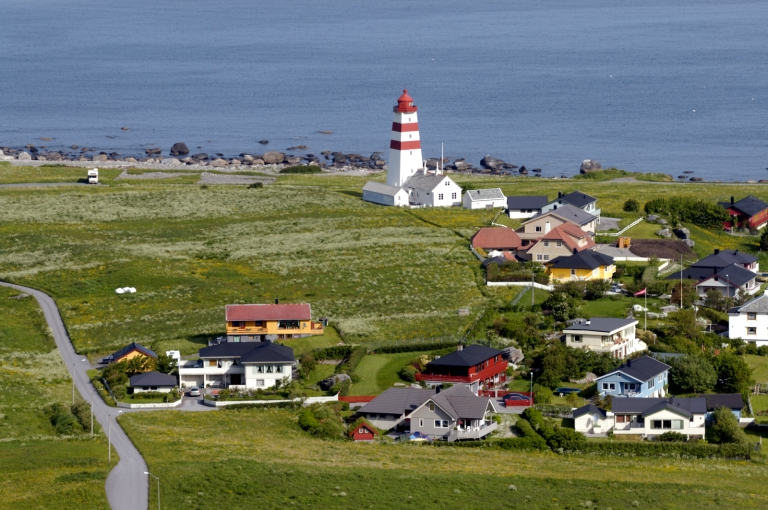 NORVEGE Alesund Alnes, île de Godoy