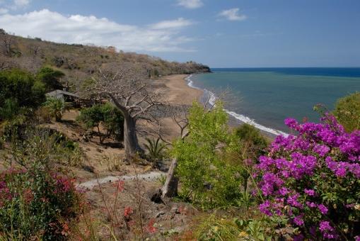 MAYOTTE Bandrele Hôtel le Sakouli Vue sur la plage