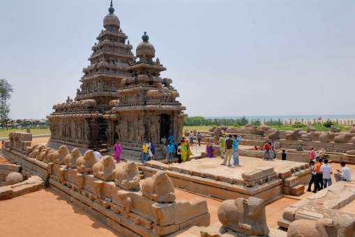 INDE du SUD Mahabalipuram Temple du Rivage